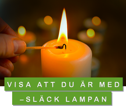 släck lampan earth hour